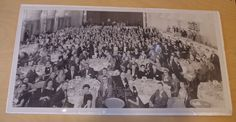 Fabulous Vintage 1950s Medford High School 35th Reunion Class picture at the Boston Sheraton Plaza Hotel Class of 1933