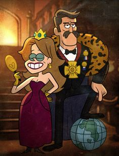 20 Day Gravity Falls Challege - Day 2: Least Favorite Character - Well, I don't have just one. I hate Pacifica's parents