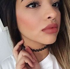 Septum Piercing Information and Inspiration Guide with stunning septum piercing images. Information on rook piercing pain, healing, price. Septum Piercings, Septum Piercing Jewelry, Septum Ring, Cute Jewelry, Body Jewelry, Jewelry Box, Jewlery, Lady Gaga, Rihanna