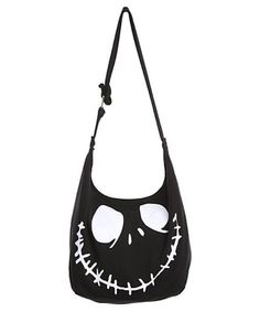 Disney The Nightmare Before Christmas Jack Face Hobo Bag Purse Tote Gift NWT | eBay