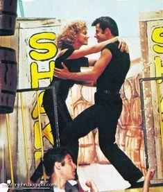 "Olivia Newton-John John Travolta in ""Grease"" Grease 1978, Grease Movie, Movie Photo, Movie Tv, Grease John Travolta, Grease Is The Word, Nostalgia, Olivia Newton John, Dirty Dancing"