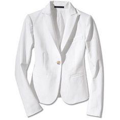 Theory Gabe B White Blazer Jacket Xs 2