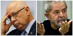 Agora é oficial: Janot pede  a Teori que Sérgio Moro  JULGUE  Lula!