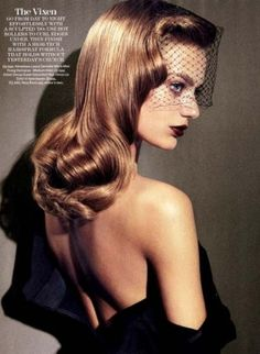 That hair!! Bregje Heinen for Marie Claire US by estelle
