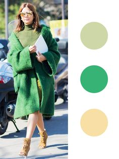 Fall's Most Interesting Color Combinations via @WhoWhatWear