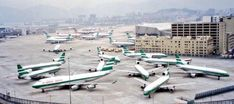 Pacific Airlines, Best Airlines, Kai Tak Airport, Cathay Pacific, Airports, Airplane, Planes, Hong Kong, Fighter Jets
