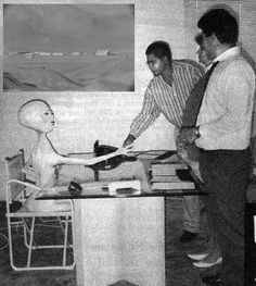 He's delighted his coworkers loved the mutilated farm animal corpses he brought to the company Christmas party.And they said an alien couldn't handle working human resources. Unexplained Mysteries, Ancient Mysteries, Aliens And Ufos, Ancient Aliens, Area 51, Alien Photos, Pseudo Science, Grey Alien, Space Aliens