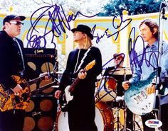 Cheap Trick Autographed 8x10 Photo Rick Nielsen, Robin Zander, Bun E. Carlos & Tom Petersson PSA/DNA