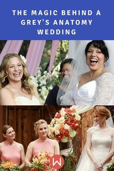 The Magic Behind A Grey S Anatomy Wedding