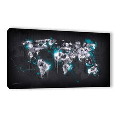 ArtWall Mikael B 'Ice World I' Gallery-wrapped Canvas