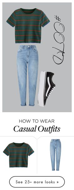 """#OOTD114"" by lilythefangirl on Polyvore featuring Miss Selfridge, Vans, cute, NightOut, ootd and polyvorefashion"