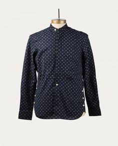 #threeanimals Disponible sur : https://www.tonsor-cie.com/boutique/three-animals-chemise-dark-blue/