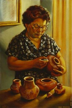 Annabelle Mitchell, a Cherokee National Treasure