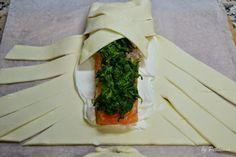 Folhados de salmão com espinafres | Petiscana