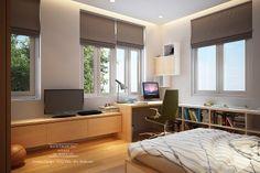 TSQ Villa - Son Bedroom Interior Design