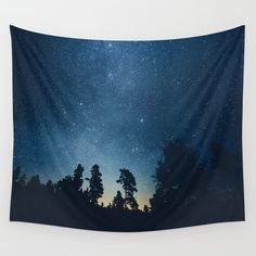 Buy Follow the stars Wall Tapestry by HappyMelvin. Worldwide shipping available at Society6.com. Just one of millions of high quality products available.