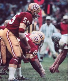 chris hanburger washington redskins 8x10 sport photo (k) from $2.99