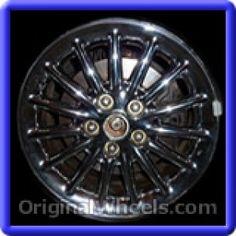Chrysler 300M 1999 Wheels & Rims Hollander #2091B  #Chrysler #300 #Chrysler300M #1999 #Wheels #Rims #Stock #Factory #Original #OEM #OE #Steel #Alloy #Used