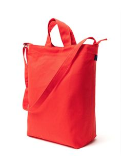 Amazon.com: BAGGU Duck Bag Canvas Tote - Chestnut: Reusable Grocery Bags: Kitchen & Dining