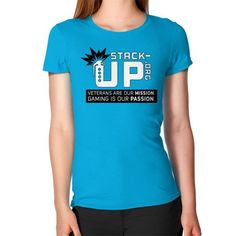 Stack Up Shirt (Tagline) Women's T-Shirt