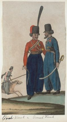 ? Cossack & Don Cossack? (NYPL > The Vinkhuijzen collection of military uniforms > Russia. > Russia, 1814)