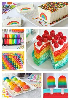 Celebrate Pride month with a colorful rainbow feast!