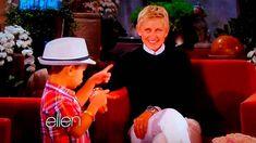 4 Year Old Kai Langer Sings Bruno Mars For Ellen Degeneres - So Cute!! May 8, 2013