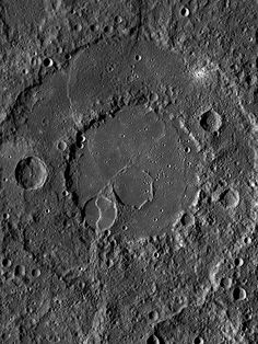 Crater Renoir on Mercury