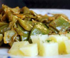 judias verdes con patatas by yoshioka on www.recetario.es