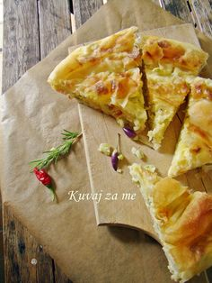 Tikvenjača Tasty, Yummy Food, Spanakopita, Main Dishes, Meals, Ethnic Recipes, Main Course Dishes, Entrees, Delicious Food