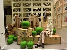 "FABIANA FILIPPI, Via della Spiga, Milan, Italy, ""Dammit,... Snow White... Green apples taste so much better"", photo by The Architects Ways, pinned by Ton van der Veer"