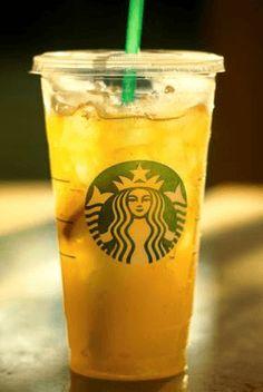 Cold Russian Tea Refresher from the Starbucks Secret Menu App!