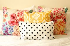 bright pillows our apartment tour