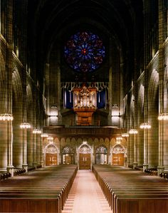 Saint Thomas Episcopal Church, located at the corner of 53rd Street and Fifth Avenue in the borough of Midtown Manhattan, New York