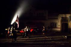 Recreación histórica. Piratas atacan La Serena