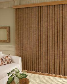 Somner® Vertical Blinds PermaTilt® in the bedroom