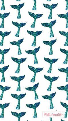 Wallpaper ~ Mermaid Summer Wallpaper, Cool Wallpaper, Pattern Wallpaper, Mermaid Wallpapers, Cute Wallpapers, Mermaid Wallpaper Backgrounds, Wallpaper Iphone Disney, Cellphone Wallpaper, Mermaid Background