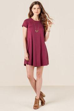 Delia Knit Shift Dress