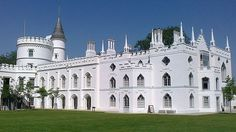 Strawberry Hill House - a neo-Gothick castle  which heralded in an architectural revolution and was the creation and home of its owner Horace Walpole from the mid to late 1700s.
