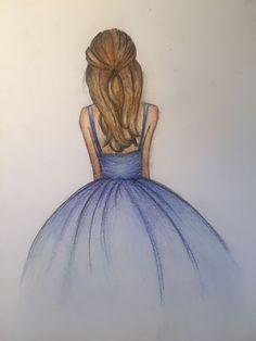 Art Drawings Sketches Simple, Hipster Drawings, Girl Drawing Sketches, Doodle Art Drawing, Girly Drawings, Sketchbook Drawings, Pencil Art Drawings, Beautiful Drawings, Easy Drawings