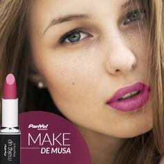 Que tal um make de musa mais romântico para o dia a dia com o Batom Mandala da Panvel Make Up. #panvel #makeup