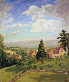 View From Chartwell 1948 by Sir Winston Churchill