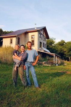 Robert, Summer and their son, Yha'ni, have made their homesteading dreams a reality.