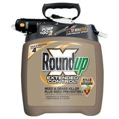 Roundup 170 24 Oz Extended Control Weed And Gr Plus Preventer Pump N Go Electronic