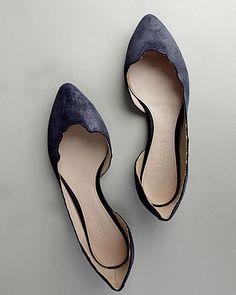 Jil Sander Jagged Edge Flat. I NEED these.
