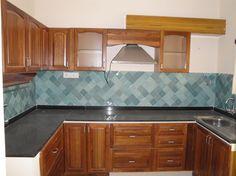 Kitchen Brilliant Inexpensive Kitchen Subway Tile Backsplash With Light Blue Tone Blend With Black Granite