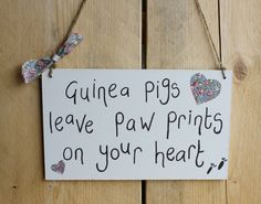 Handmade Hanging Wooden Saying Sign http://www.everythingguineapig.com/collections/decorative-handmade