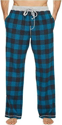 552d3f271e00 True Grit - Softest Vintage Melange Buffalo Check Flannel Pants