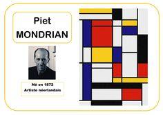 Piet Mondrian - Portrait d'artiste