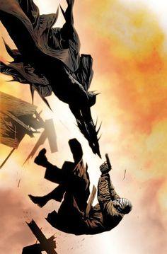 Batman vs Hush by Jae Lee